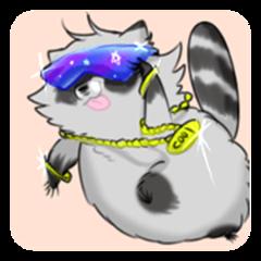 I'm a raccoon