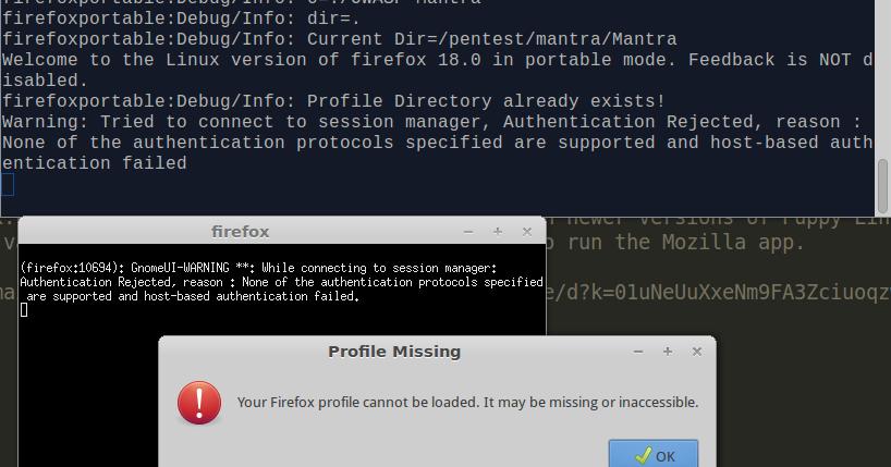 AniDear: Fix OWASP Mantra's crash at start: Your firefox