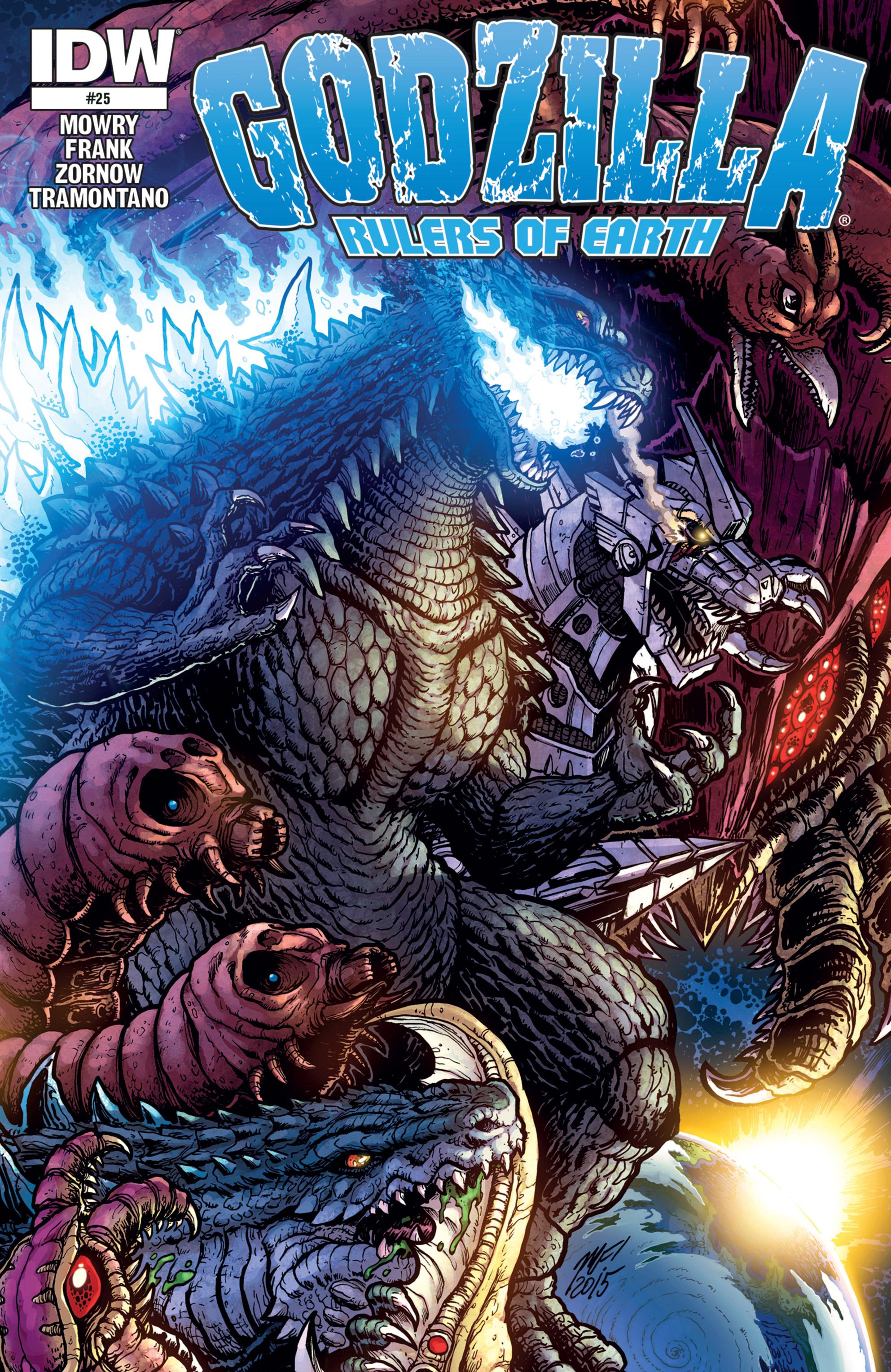 Godzilla: Rulers of Earth 25 Page 1