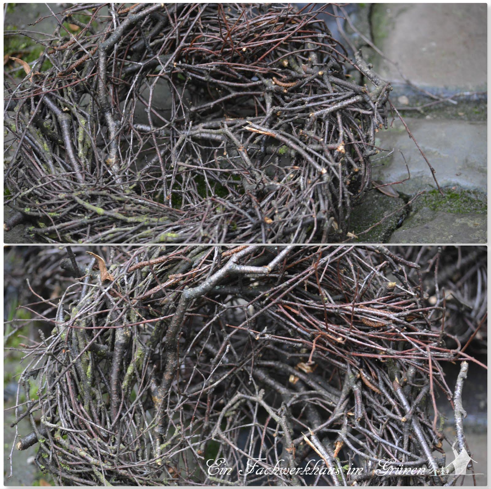heimeliges nest aus sten ein fachwerkhaus im gr nen. Black Bedroom Furniture Sets. Home Design Ideas