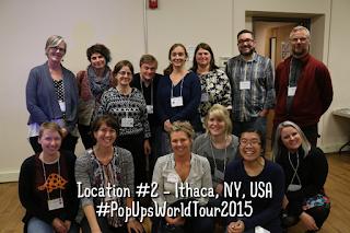 Pop-Ups On Tour 2015 - Ithaca