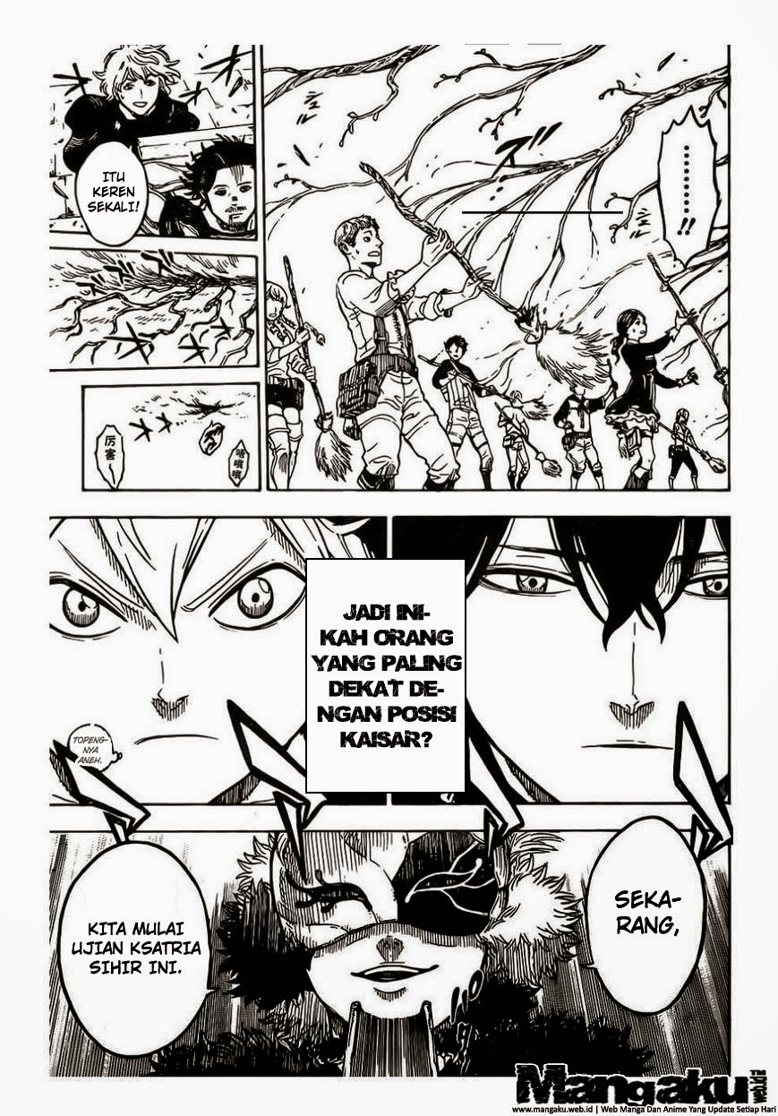Manga Black Clover Chapter 2 Bahasa Indo