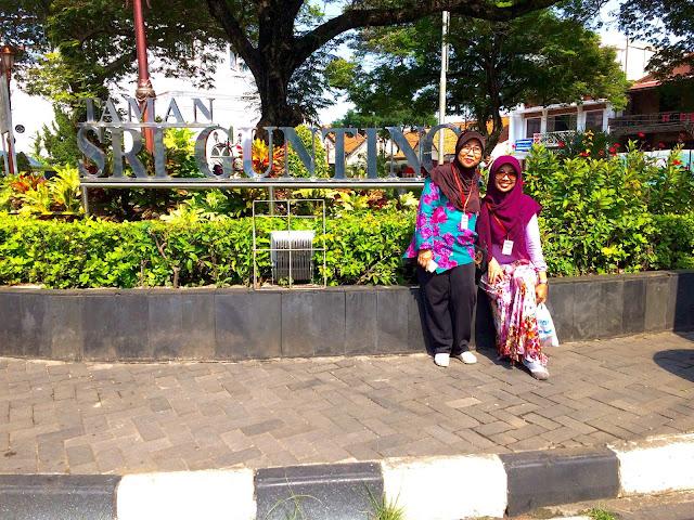 Taman Srigunting Kota Lama Semarang