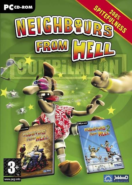 تحميل جميع اجزاء لعبة ازاي تخنق جارك neighbours from hell للكمبيوتر من ميديا فاير