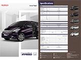 Spesifikasi Mobil Honda Freed 2016