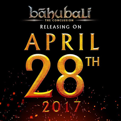 bahubali 2 release date poster