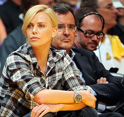 Charlize Theron DeepSea Rolex
