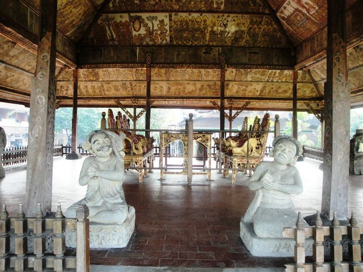 Hall of Justice Kerthagosa - Tour, Program, Trip, Itinerary, Plan, Schedule, Bali, Semarapura, Klungkung, Holidays, Tours, Attractions