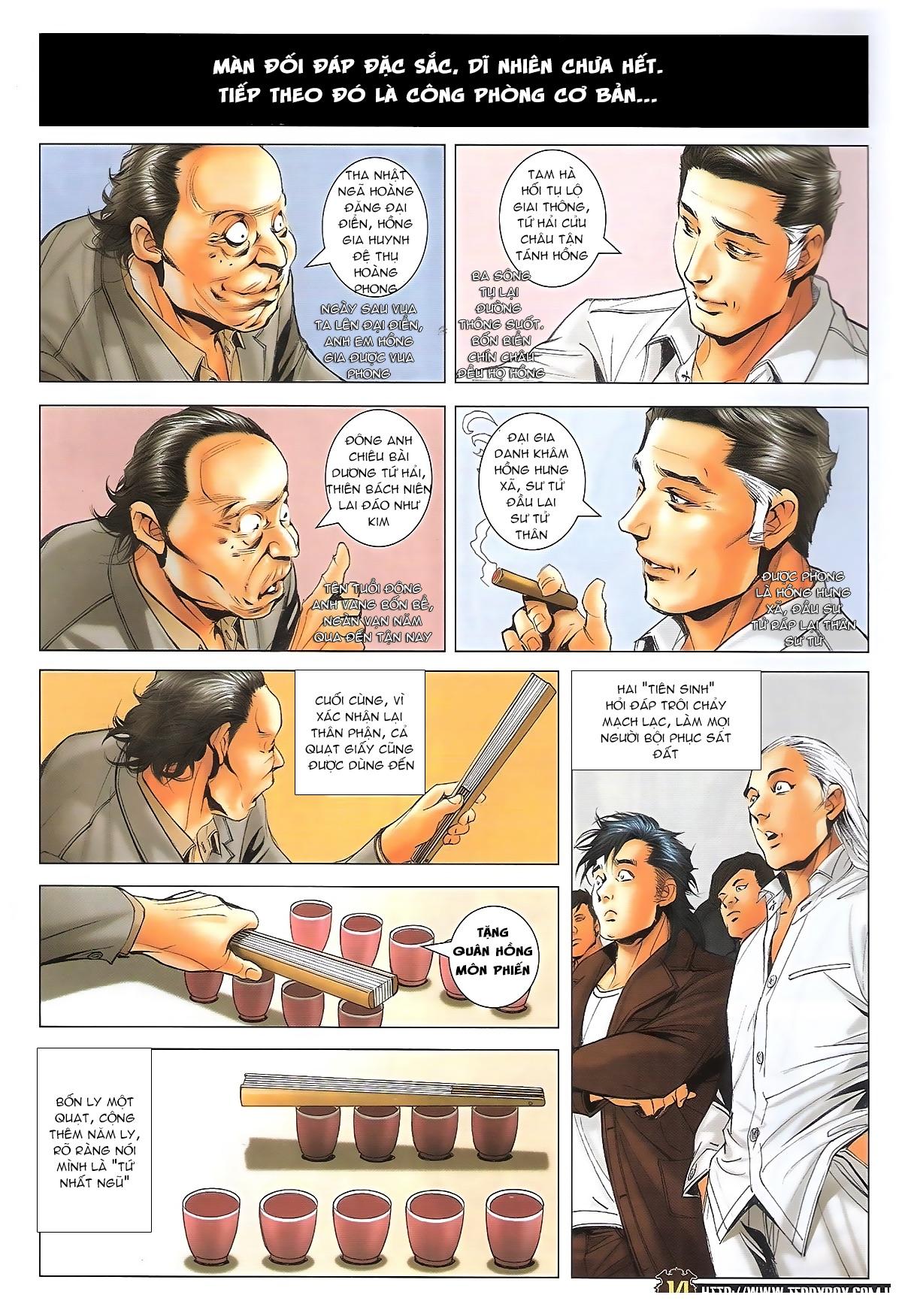 Người Trong Giang Hồ - Ngũ Hổ qui thiên - Chapter 1716: Đàm phán siêu cấp 2 - Pic 12