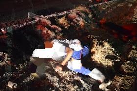 Em Cajazeiras, motorista atropela rapaz com carreta na BR-230 e foge do local
