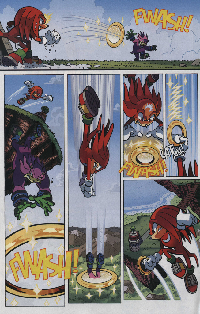 Read online Sonic The Hedgehog comic -  Issue #246 - 23