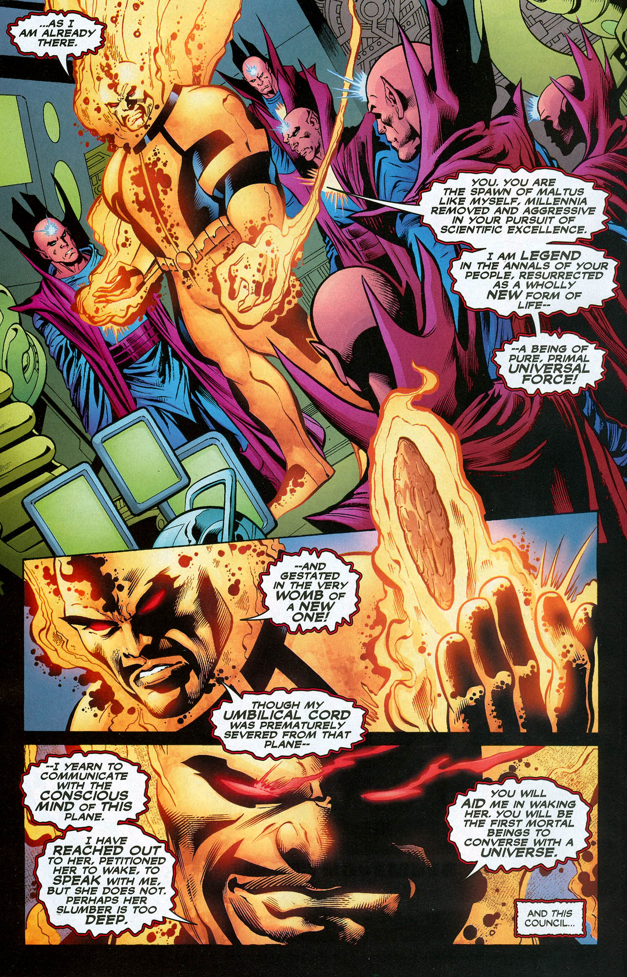 Read online Trinity (2008) comic -  Issue #20 - 22