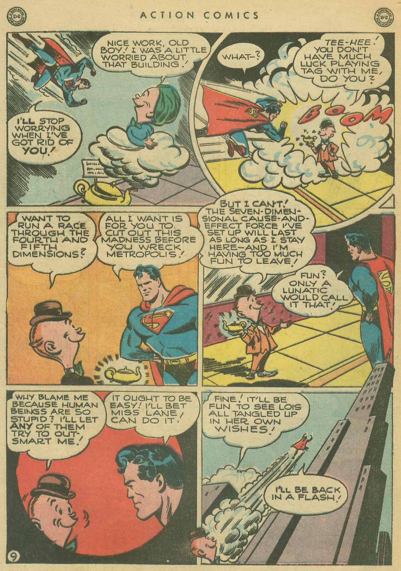 Read online Action Comics (1938) comic -  Issue #102 - 10