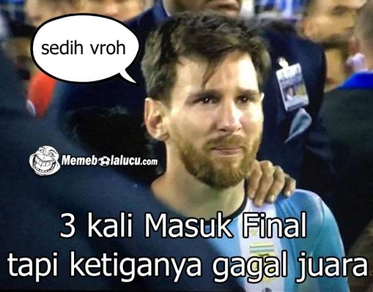 8 Meme Messi Ronaldo Pulang Kampung Bareng Kocak Parah