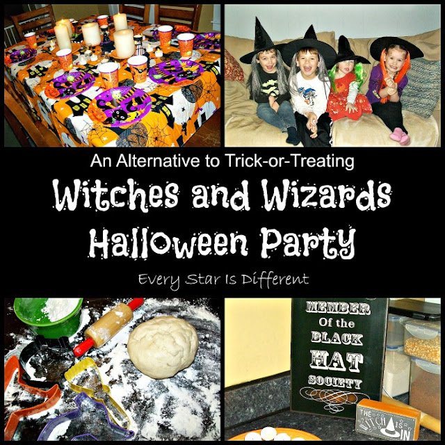 Witches and Wizards Halloween Party