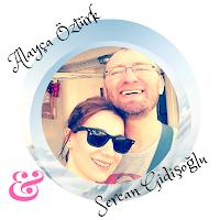 Alayça Öztürk alături de soțul ei