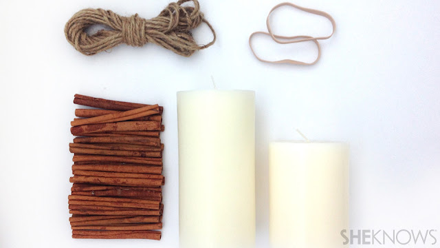 Ioanna's Notebook - DIY Cinnamon scented candle - materials