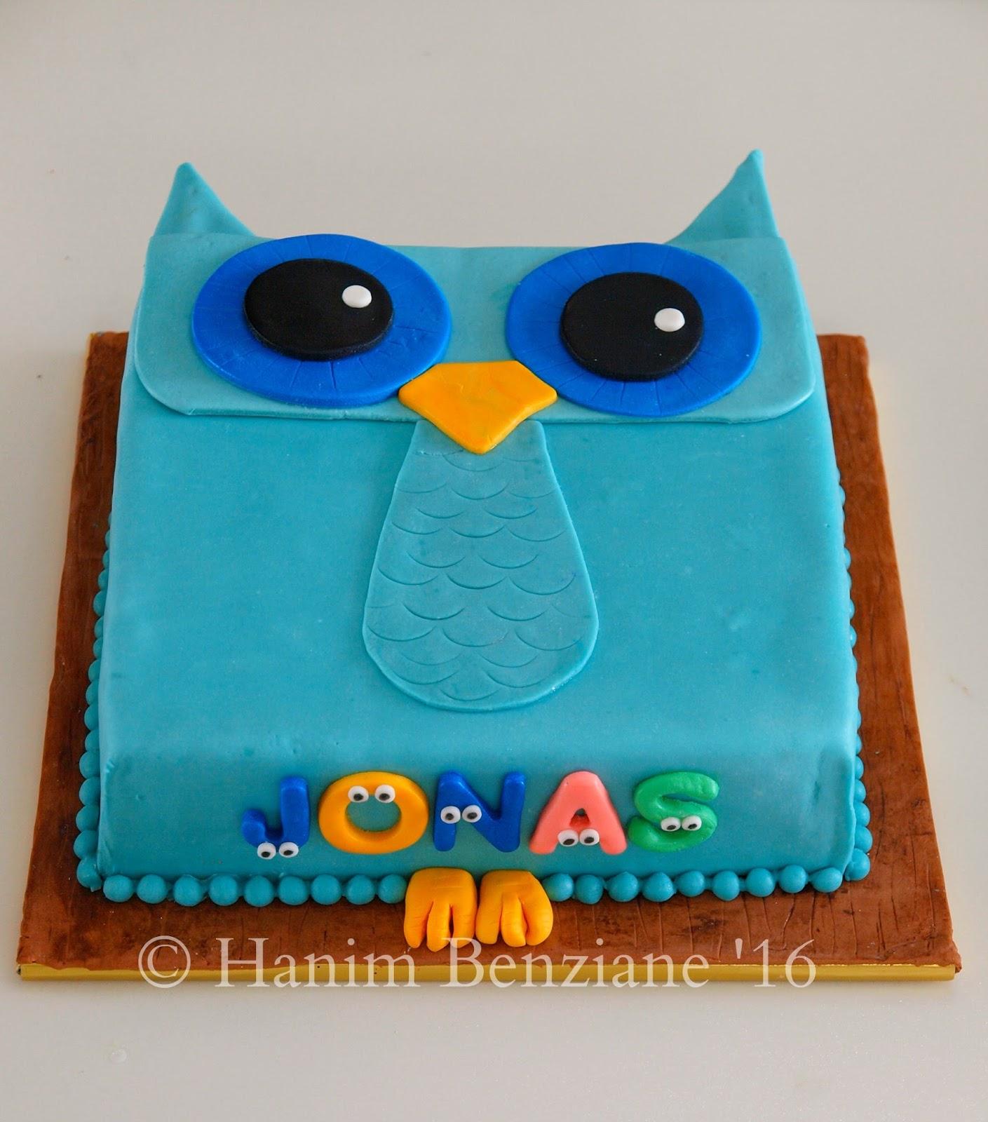 Groovy Owl Cake Funny Birthday Cards Online Amentibdeldamsfinfo