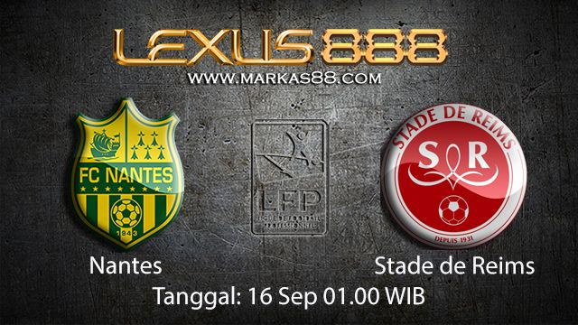 Prediksi Bola Jitu Nantes vs Stade de Reims 16 September 2018 ( French Ligue 1 )