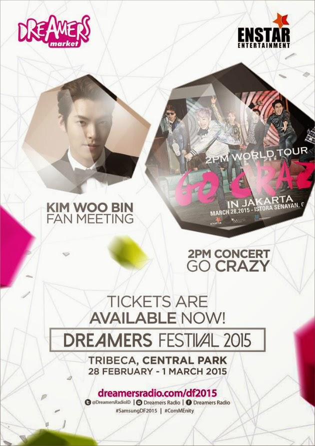 diskon tiket Kim Woo Bin dan 2PM