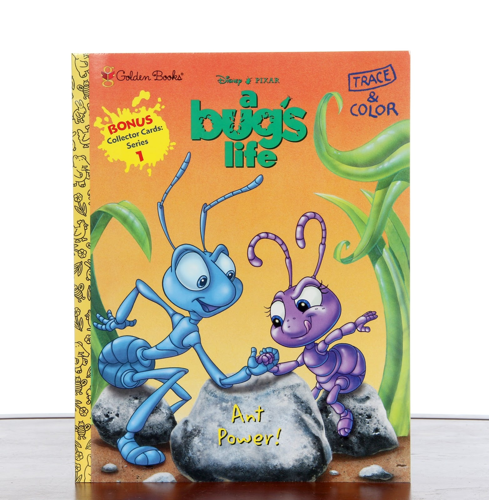 a bug's life ant power trace color book