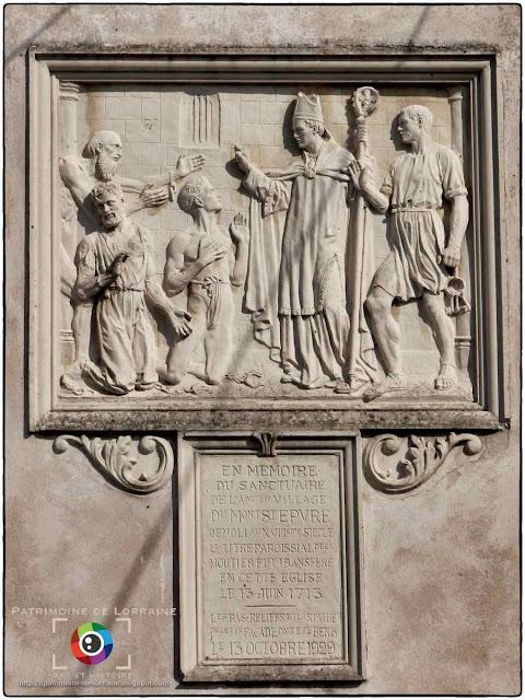 DEUXVILLE (54) - Eglise Saint-Epvre