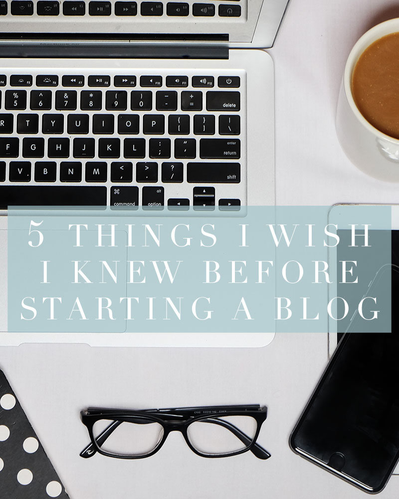 Here are five things you should know before starting a blog!