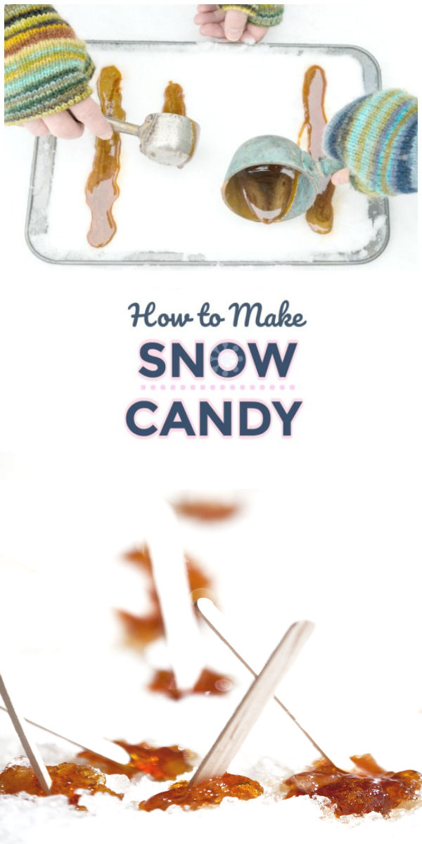 FUN KID PROJECT: Make snow candy! #snowcandy #snowplay #snowcandyrecipes #snowcandyrecipeskids #snowplayideas #snowplayideas #howtomakesnowcandy