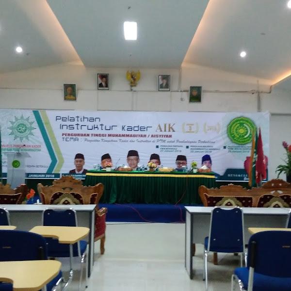 Pelatihan Instruktur Dosen AIK Regional 3 se-Sumatra
