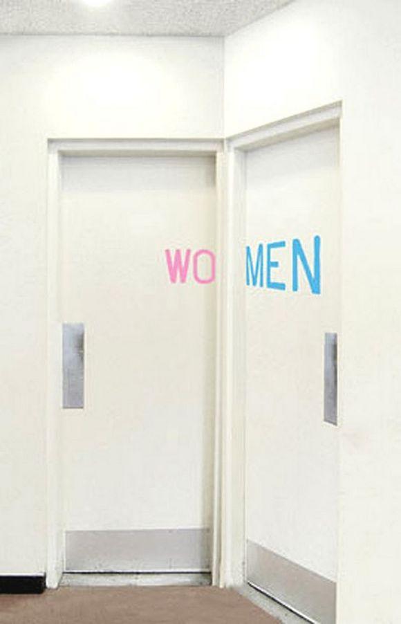 Imágenes y letreros de baños muy divertidos y originales