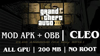 GTA 3 APK AND OBB WITH CLEO