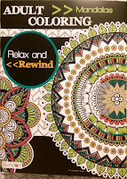 Dollar Tree haul Adult Coloing MANDALAS Relax and Rewind detailed mosaics