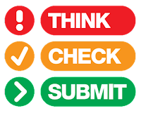 logo Think Check Submit