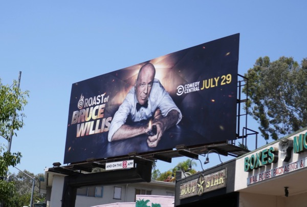 Roast of Bruce Willis billboard