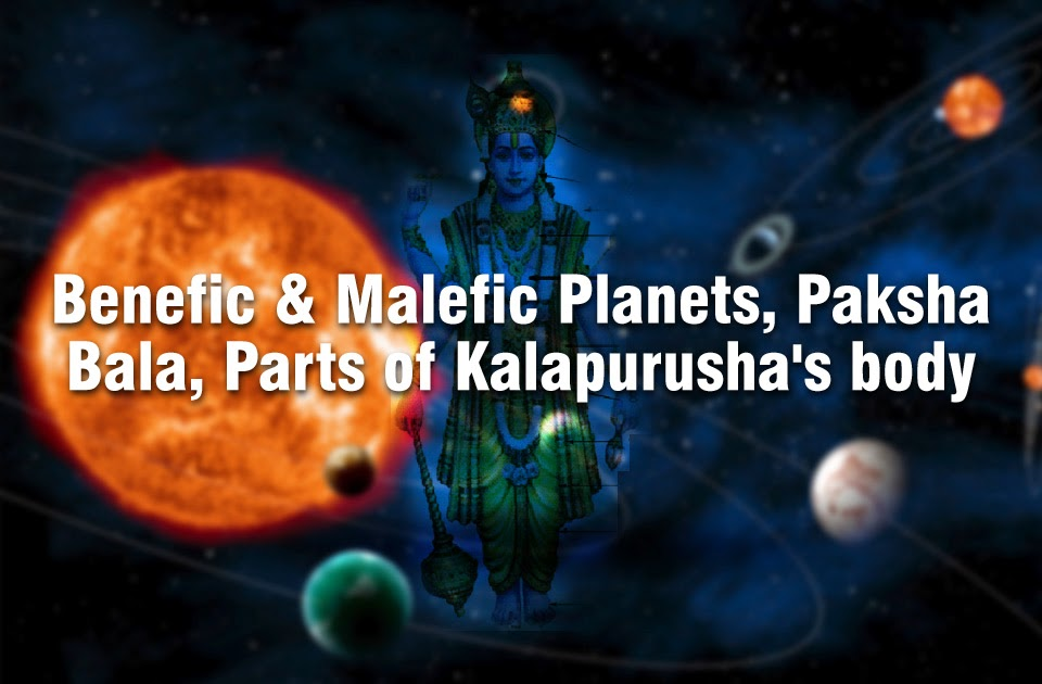 Benefic & Malefic Planets, Paksha Bala