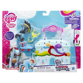 MLP Rainbow Dash' Cloudominium Rainbow Dash Brushable Figure