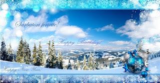 felicitari, urari, mesaje, sms, urare, mesaj, la multi ani, fotografie, poza, imagine, poze, imagini, happy new year, happy birthday, an nou, revelion, sarbatori, felicitare de revelion, felicitare de an nou, felicitare de sarbatori, sarbatori fericite, 2016, camp cu brazi si zapada si globulete,