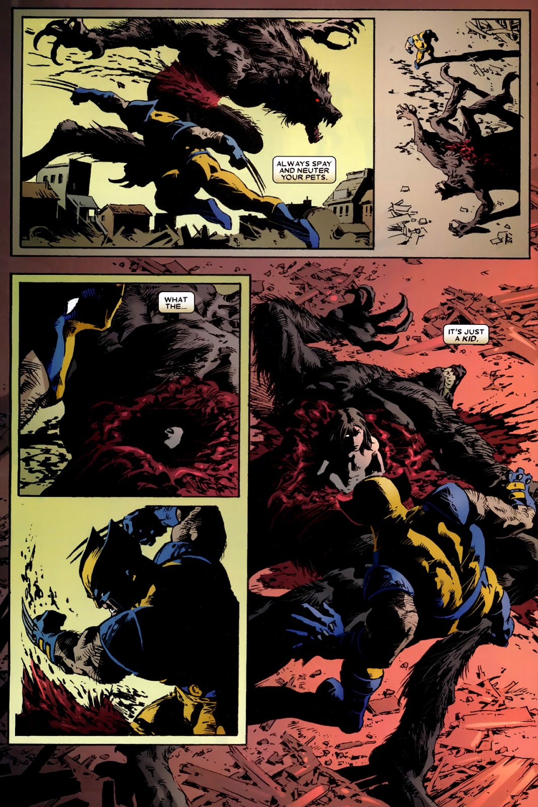 Read online Wolverine (2003) comic -  Issue # Annual 2 - 26