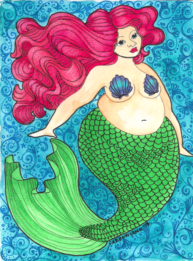 Mermaid by Jessi Carrowiano | Yeti Crafts