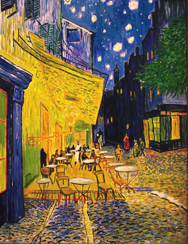 Arte A Tu Medida Terraza Del Caf 233 De La Place Du Forum En