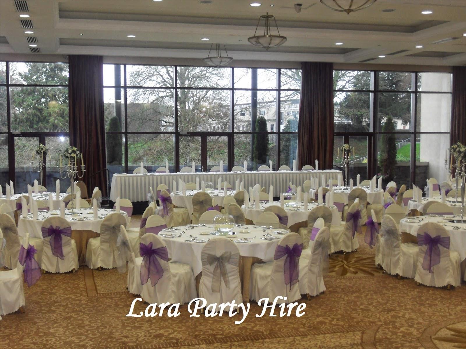 purple and silver wedding decor trim castle hotel