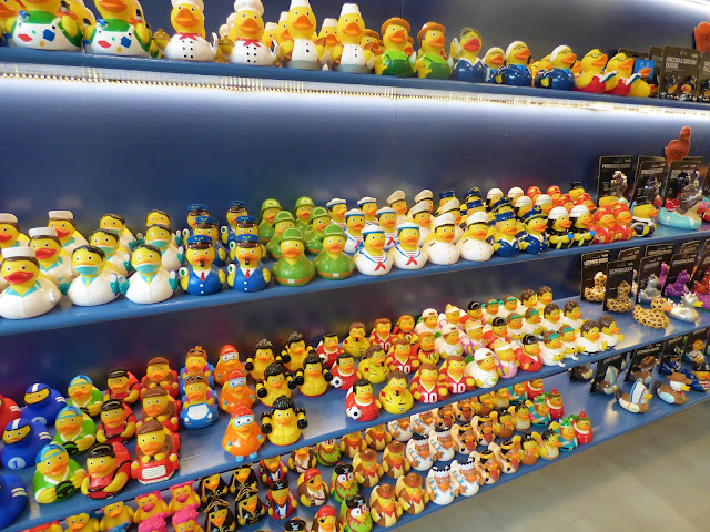 Rubber duck shop in The Laines, Brighton