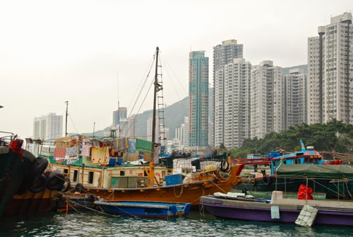 Living in Aberdeen Harbor - Hong Kong Island china