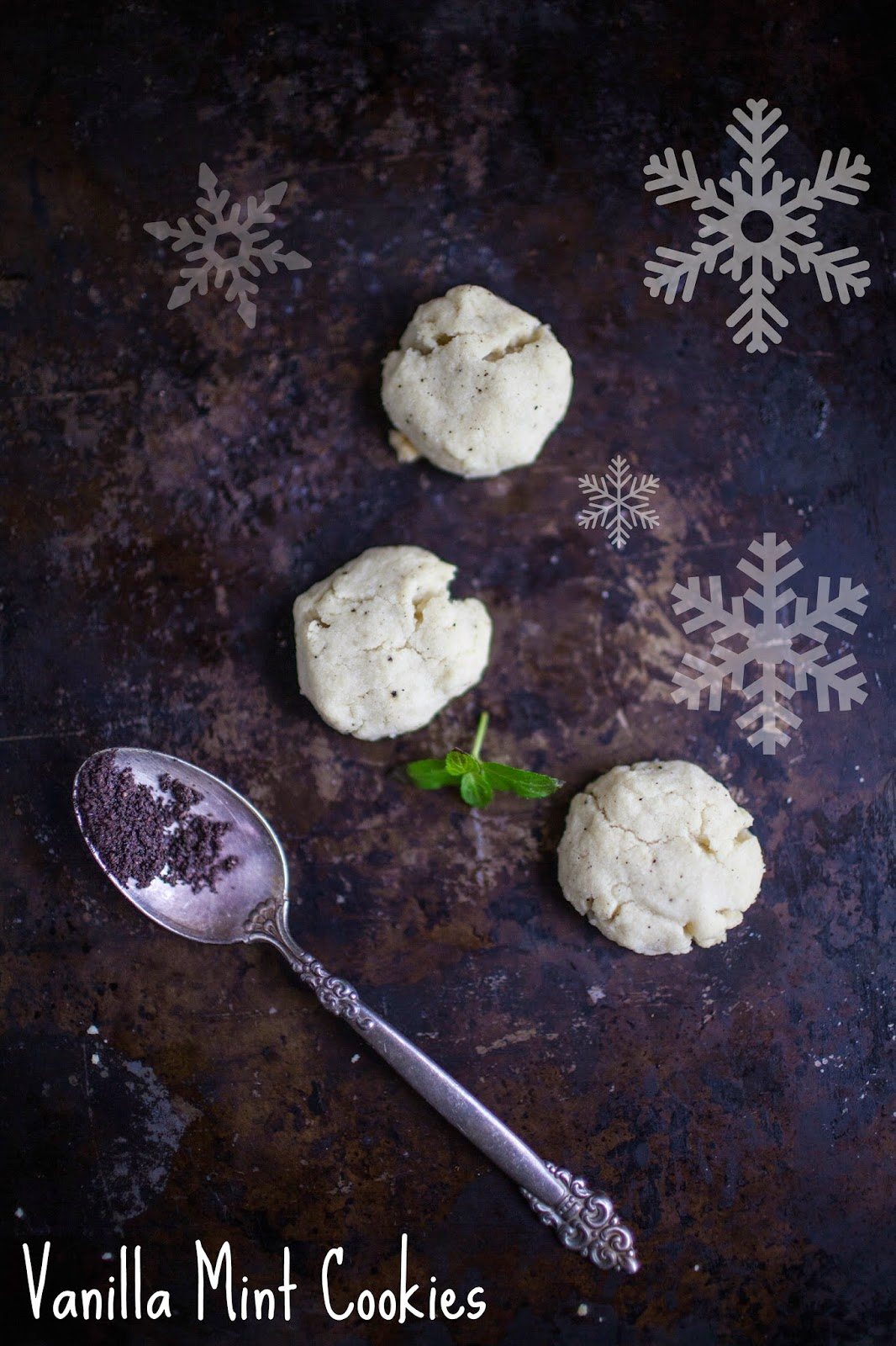 1 Cookie Recipe 12 Ways: Vanilla Mint Cookies