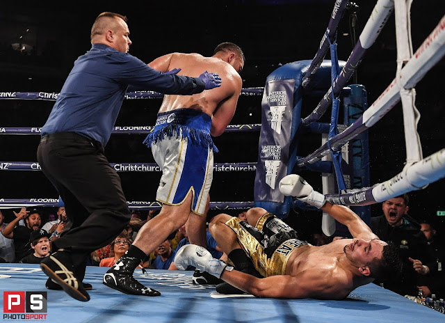 Joseph Parker Knocks Out Alexander Flores