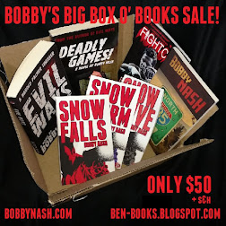BOBBY'S BIG BOX O' BOOKS SALE!