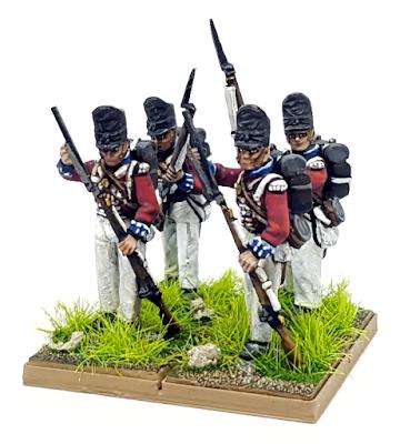 British Line Infantry Waterloo Wargame