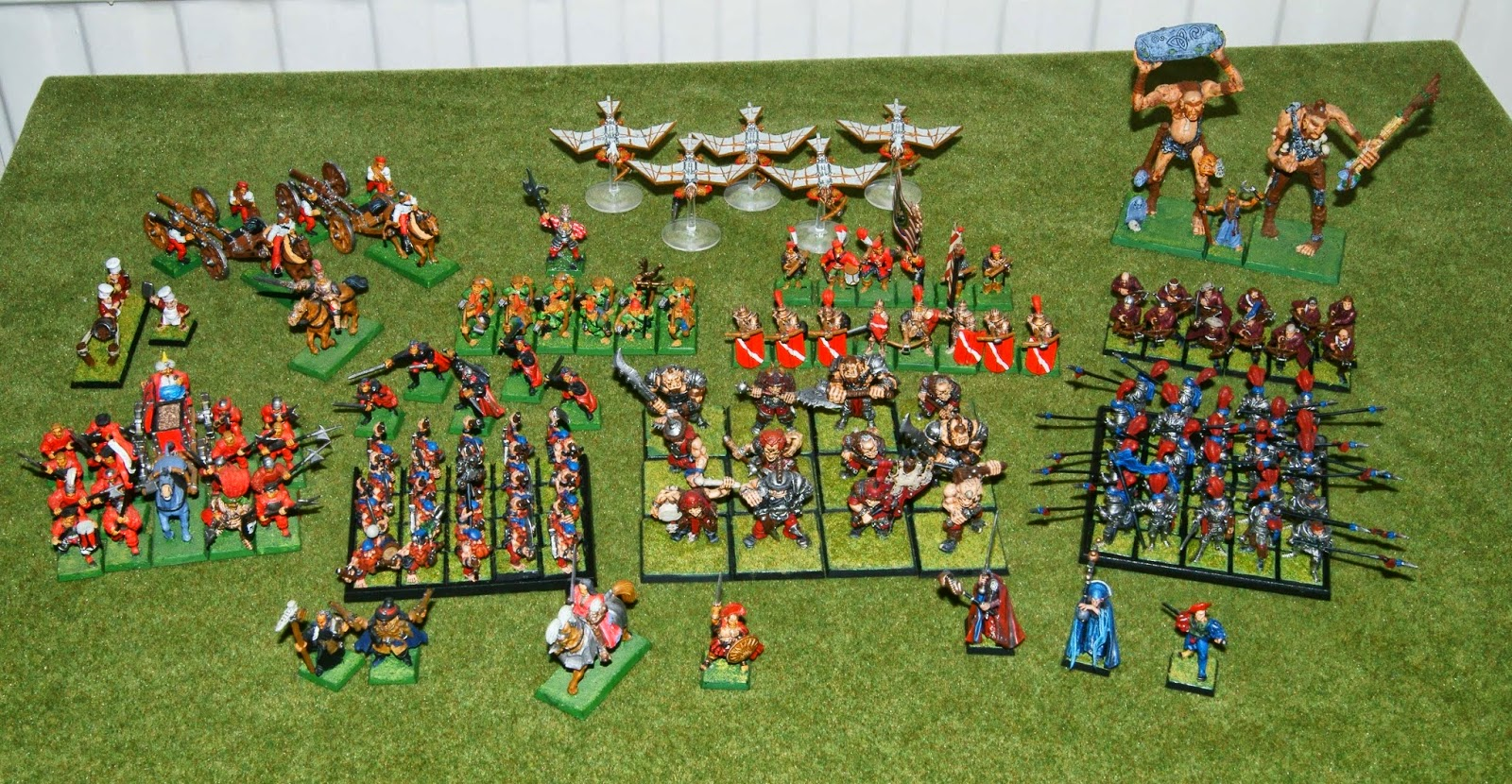 Keith's Tabletop Gaming / Painting Blog: Army Focus - Warhammer