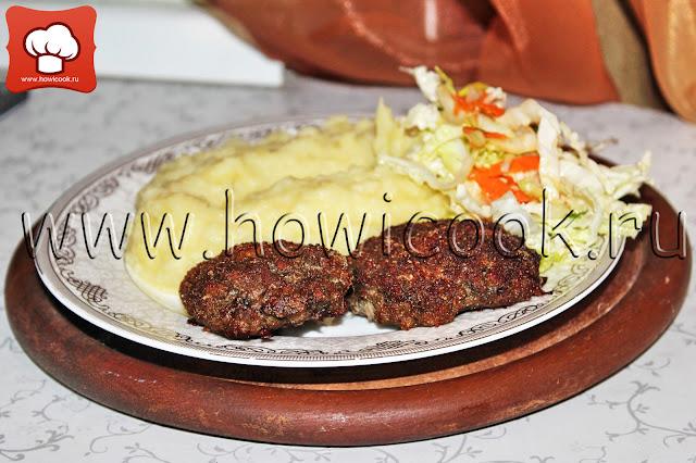 рецепт вкусных мясных котлет с грибами