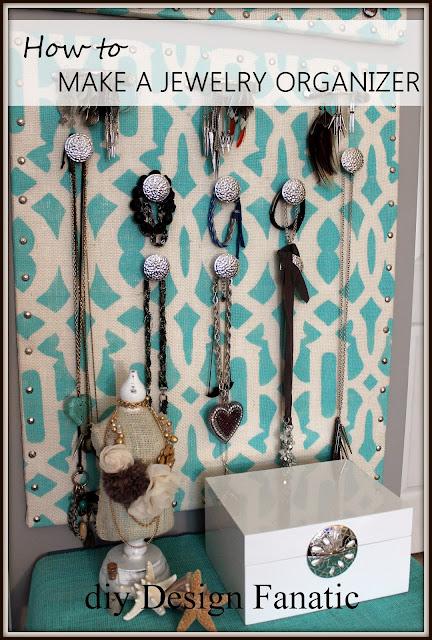 organized, jewelry, diydesignfanatic.com, cottage, organization, organize